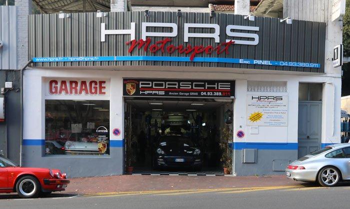 HPRS Motorsport devanture