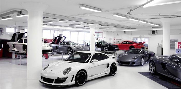 atelier gemballa préparateur Porsche allemagne