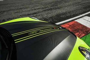 Capot en fibre de carbone Techart GT Sreet R Porsche 911