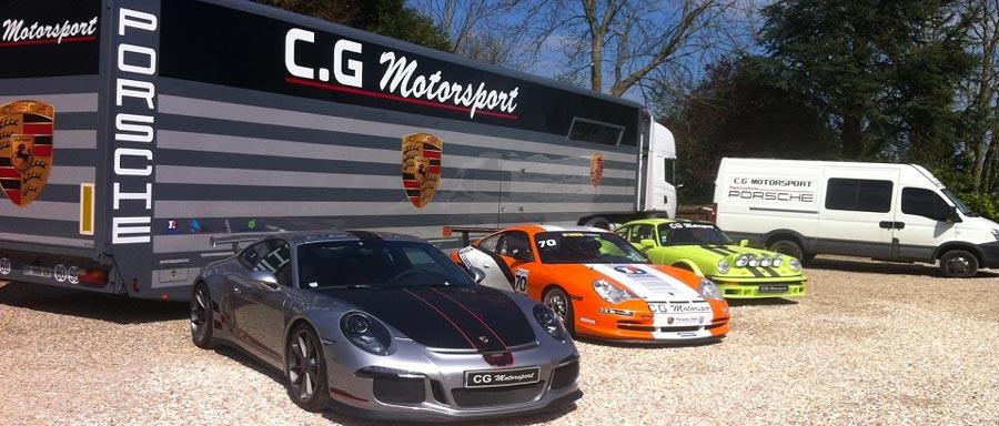 CG Motorsport garage Porsche 01