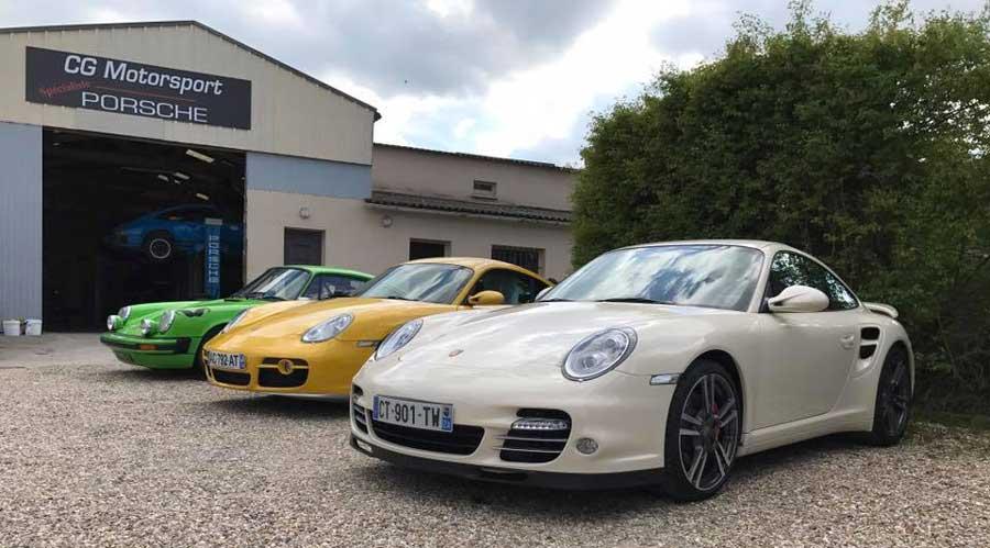 CG Motorsport garage Porsche 04