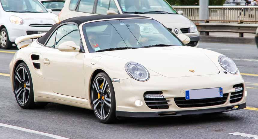 Cote argus prix élevee de la Porsche 997
