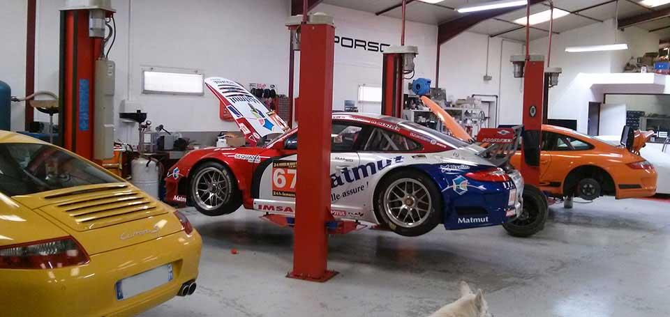 garage Porsche indépendant Mika Motorsport 01