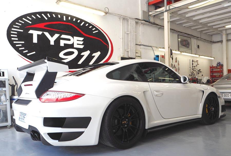 Garage spécialiste Porsche indépendant type 911 d