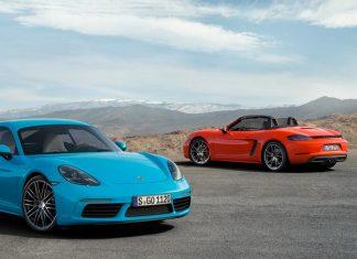 Modèle 2016 Porsche Cayman Boxter 718