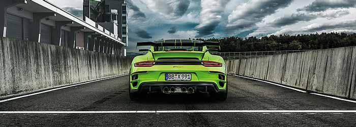 Moteur Techart Streetgt R Porsche 911 Turbo S