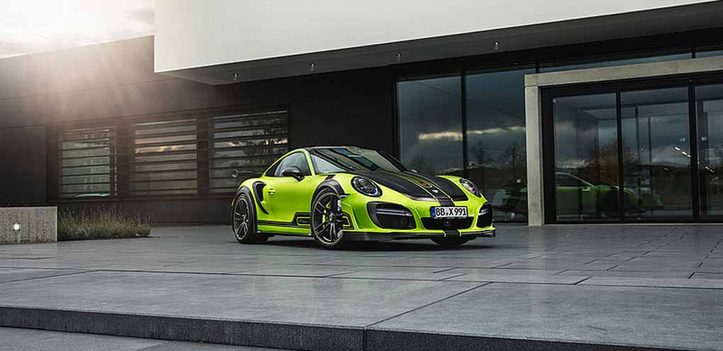 Porsche 911 Techart street R Turbo S