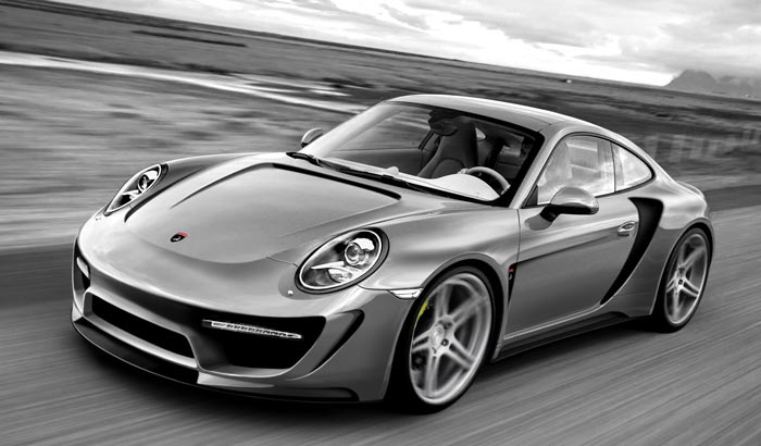 Porsche 991 Turbo Topcar
