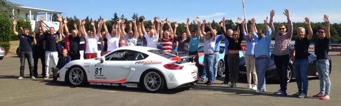 Rassemblement Porsche nourry