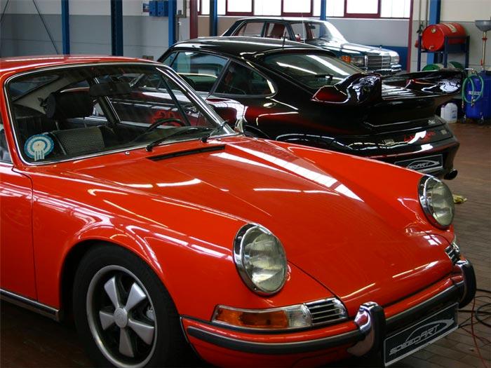speedart restauration Porsche 911 Classic