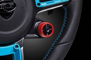 Techart Powerkits et son mode sport plus intégré au volant