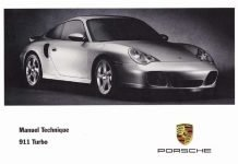 Manuel et notice technique Porsche 911 996 Turbo 2000 2005