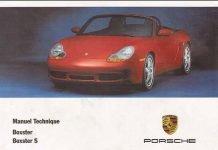 Manuel et notice technique Porsche 986 Boxster 2000 à 2002