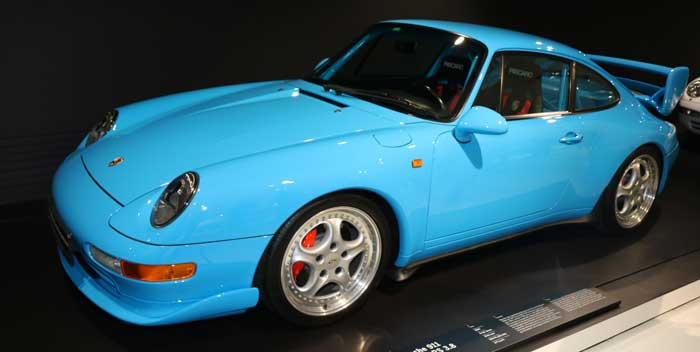 Porsche 911 Carrera RS 3L8 Clubsport 1996