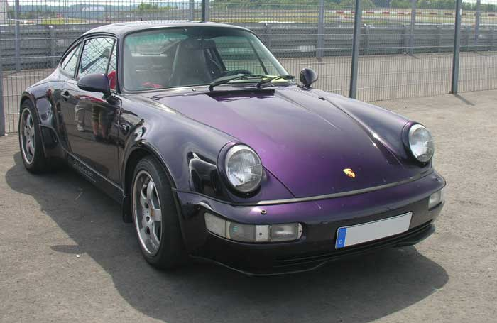 codes options Porsche 964 edition speciale jubile