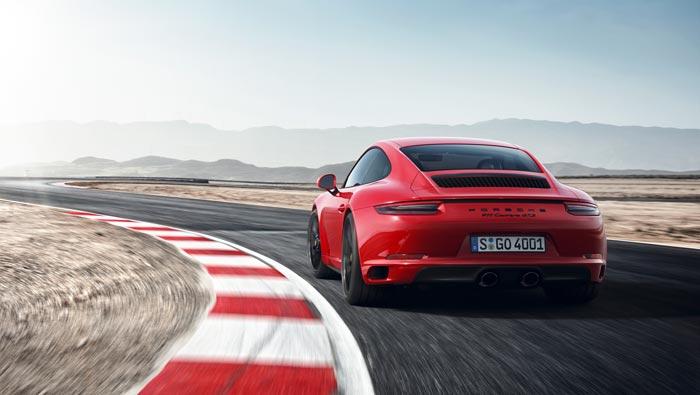 gamme nouvelle Porsche Carrera Targa GTS 2017
