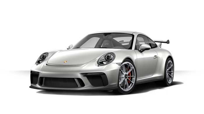porsche 911 991 MK2 GT3 05 argent gt option metal