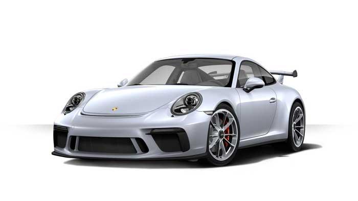 porsche 911 991 MK2 GT3 05 argent rhodium option metal