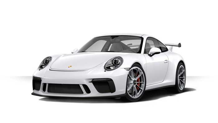 porsche 911 991 MK2 GT3 05 blanc carrara option metallise