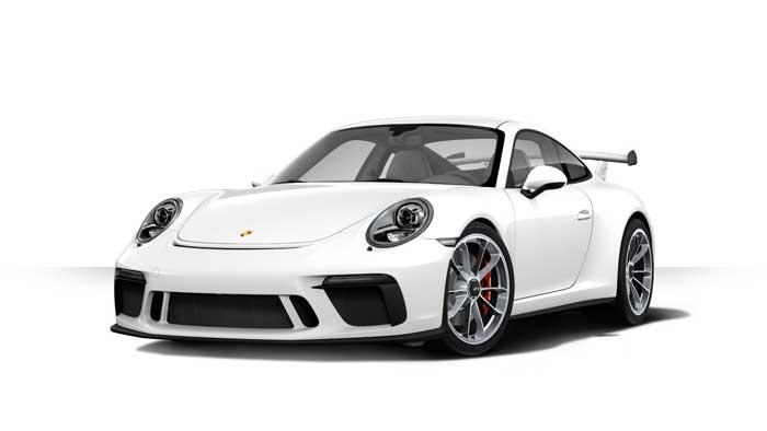 porsche 911 991 MK2 GT3 05 blanc serie