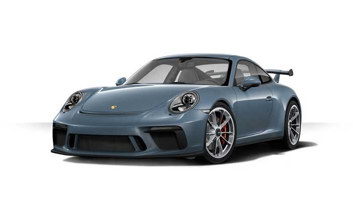 porsche 911 991 MK2 GT3 05 bleu graphite option metal