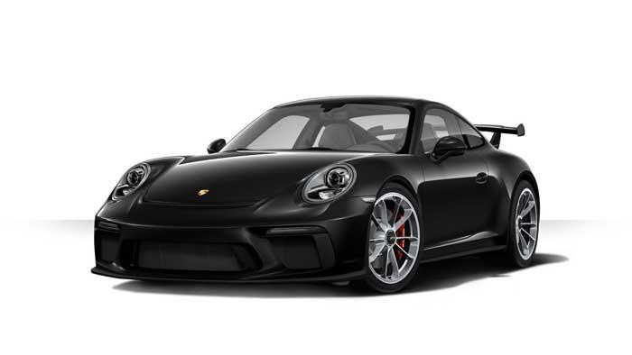 porsche 911 991 MK2 GT3 05 noir intense option metallisee