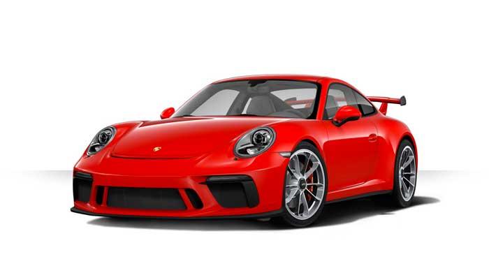porsche 911 991 MK2 GT3 05 rouge indien série