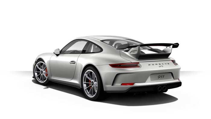 porsche 911 991 MK2 GT3 06 argent gt option metal