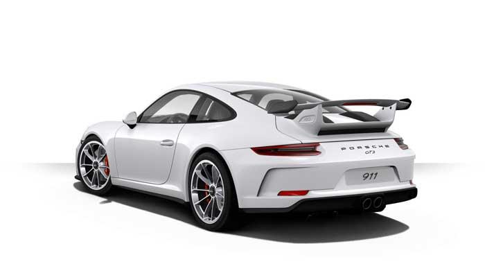 porsche 911 991 MK2 GT3 06 blanc carrara option metal