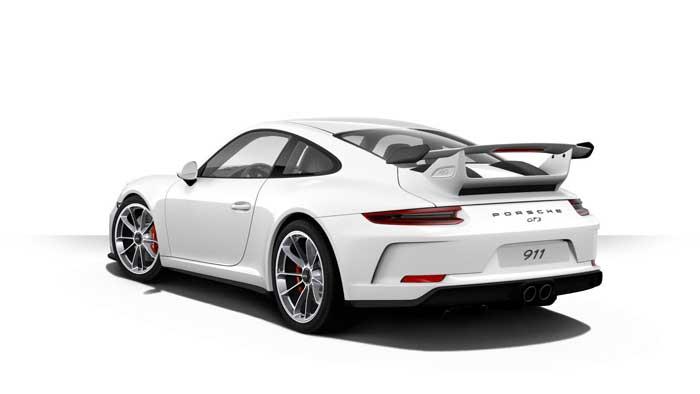 porsche 911 991 MK2 GT3 06 blanc serie