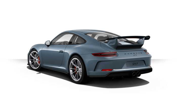 porsche 911 991 MK2 GT3 06 bleu graphite option metal