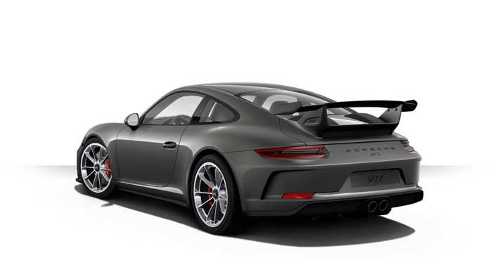 porsche 911 991 MK2 GT3 06 gris quartz option metal