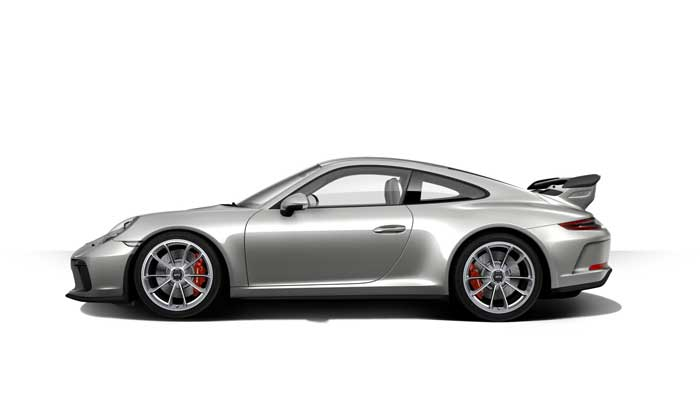 porsche 911 991 MK2 GT3 07 argent gt option metal