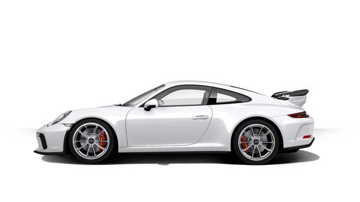 porsche 911 991 MK2 GT3 07 blanc carrara option metal