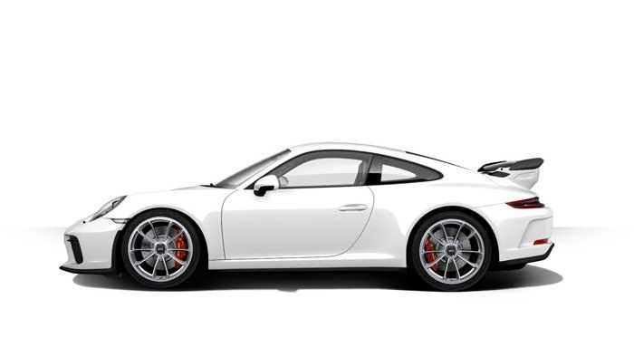 porsche 911 991 MK2 GT3 07 blanc serie