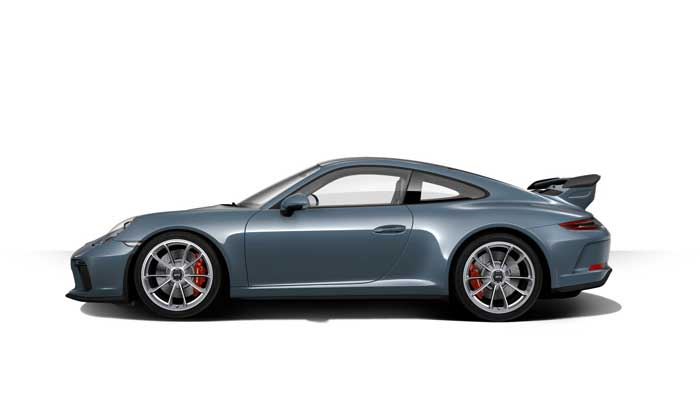 porsche 911 991 MK2 GT3 07 bleu graphite option metal