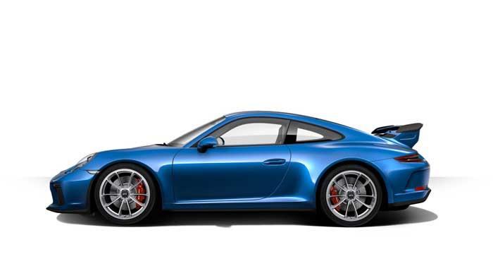 porsche 911 991 MK2 GT3 07 bleu saphit option metallisee