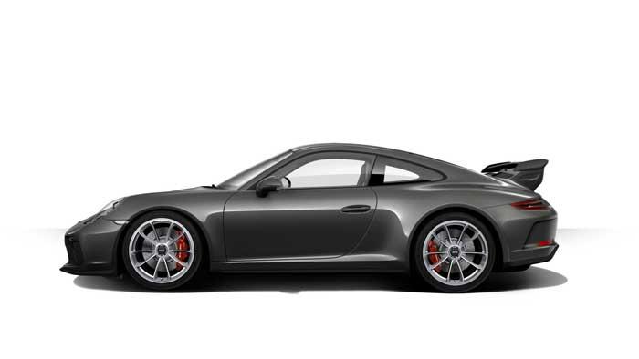 porsche 911 991 MK2 GT3 07 gris quartz option metallisee