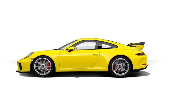 porsche 911 991 MK2 GT3 07 jaune racing série