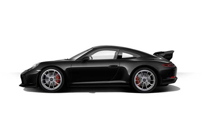 porsche 911 991 MK2 GT3 07 noir intense option metal
