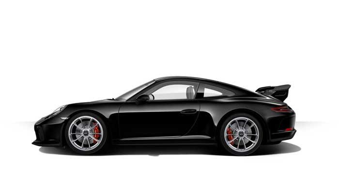 porsche 911 991 MK2 GT3 07 noir série