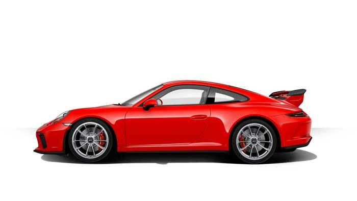 porsche 911 991 MK2 GT3 07 rouge indien série