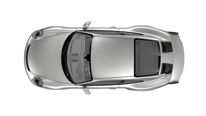 porsche 911 991 MK2 GT3 08 argent gt option metal