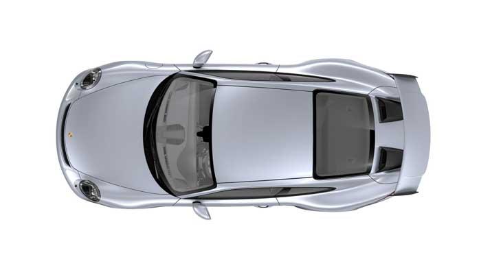porsche 911 991 MK2 GT3 08 argent rhodium option metallisee