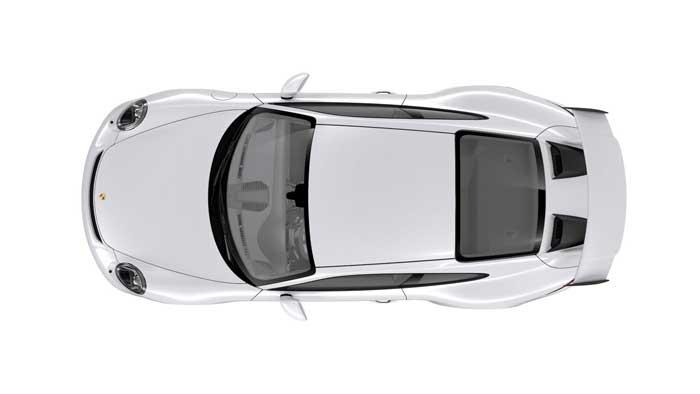 porsche 911 991 MK2 GT3 08 blanc carrara option metallisée