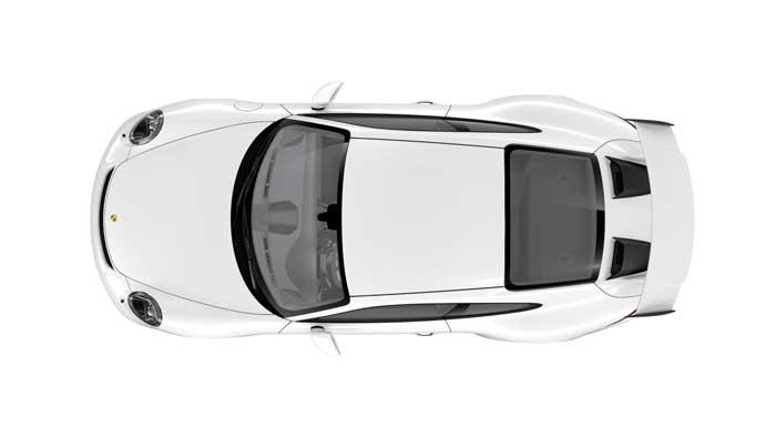 porsche 911 991 MK2 GT3 08 blanc serie