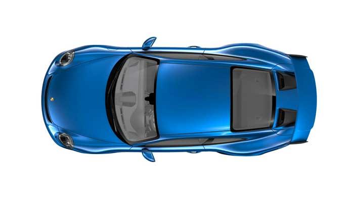 porsche 911 991 MK2 GT3 08 bleu saphir option metallisee
