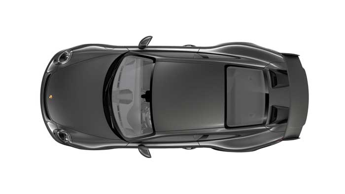 porsche 911 991 MK2 GT3 08 gris quartz option metallisee