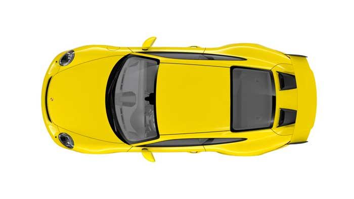 porsche 911 991 MK2 GT3 08 jaune racing série