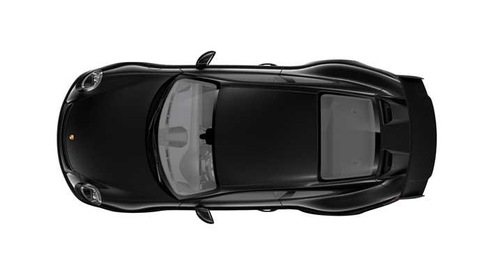 porsche 911 991 MK2 GT3 08 noir intense option metal